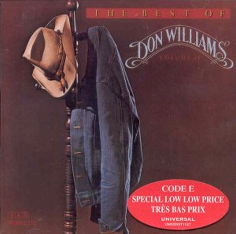 Don Williams - The Best Of Don Williams Volume 2 - Cd