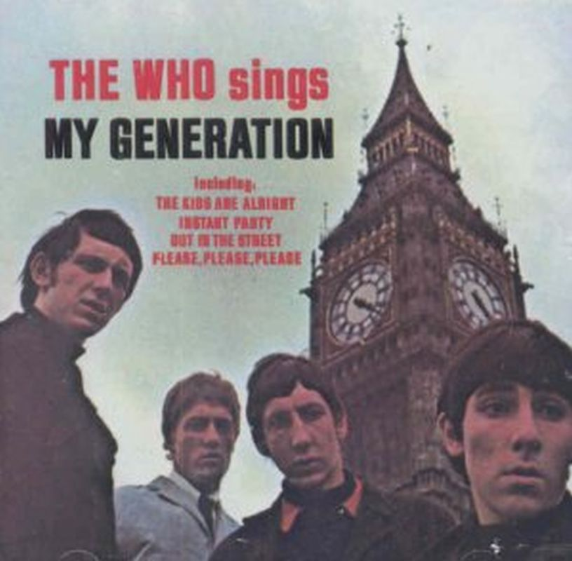 Who - Sings My Generation - Cd