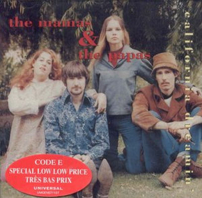 Mamas & The Papas - California Dreamin - Cd