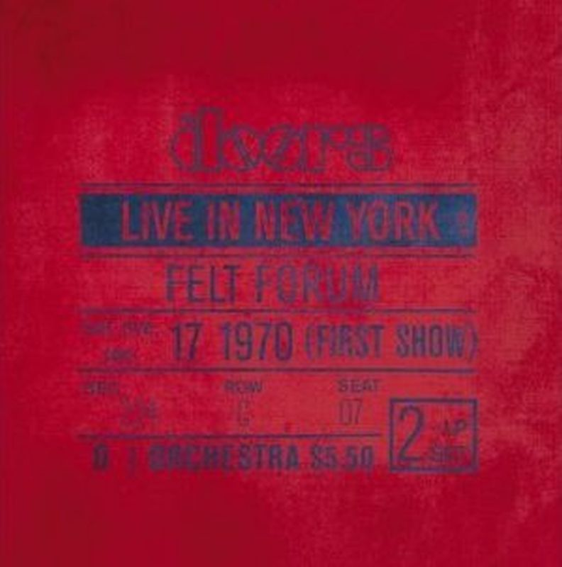 Doors - Live In New York - 2 Vinyl Lp Set