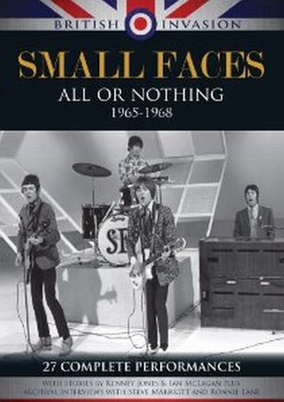 Small Faces - All Or Nothing 1965- 1968 - Dvd