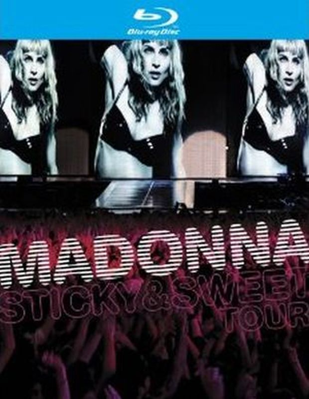 Madonna - Sticky & Sweet Tour - Blu- Ray