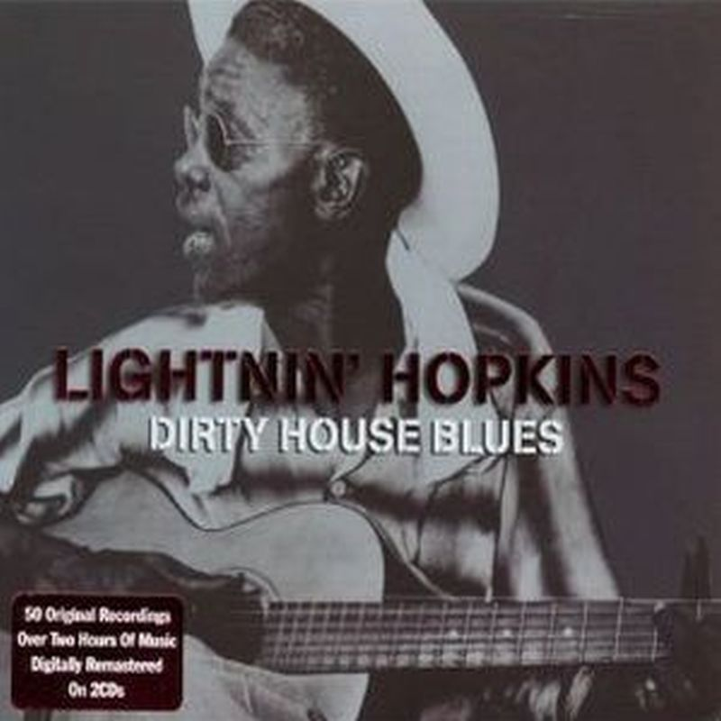 Lightnin Hopkins - Dirty House Blues - 2 Cd Set