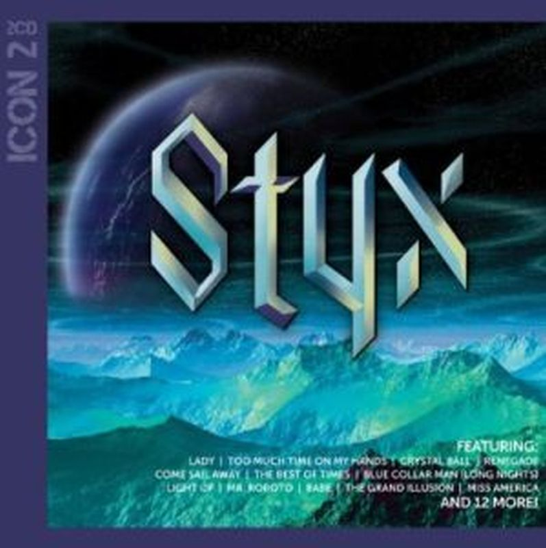 Styx - Icon 2: Greatest Hits! - 2 Cd Set
