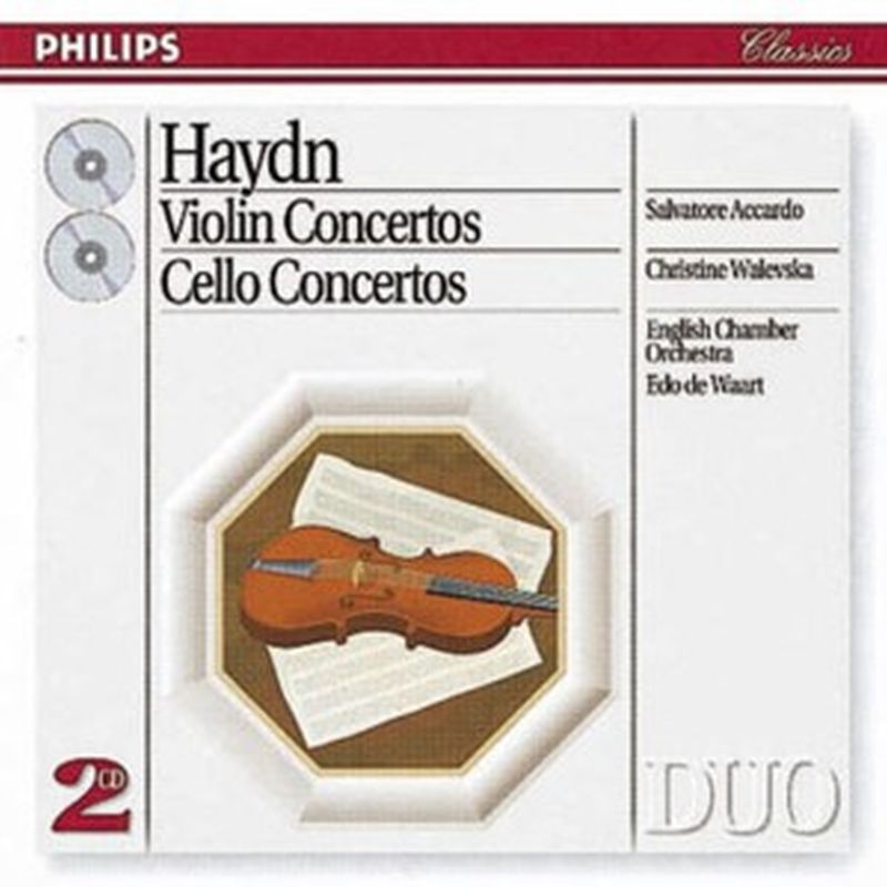 Haydn - Violin/cello Concertos - 2 Cd Set