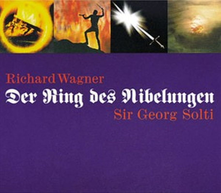 Richard Wagner - Der Ring Des Nibelungen (solti - 14 Cd Set)