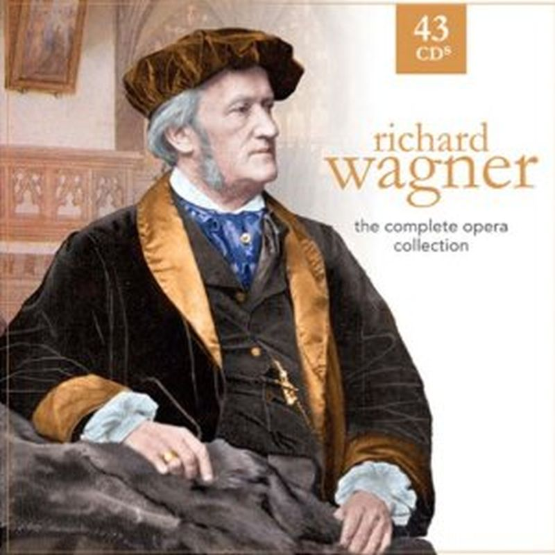 Richard Wagner - Complete Opera Collection - 43 Cd Set