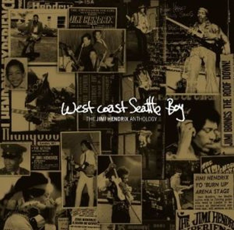 Jimi Hendrix - West Coast Seattle Boy: Anthology - Cd