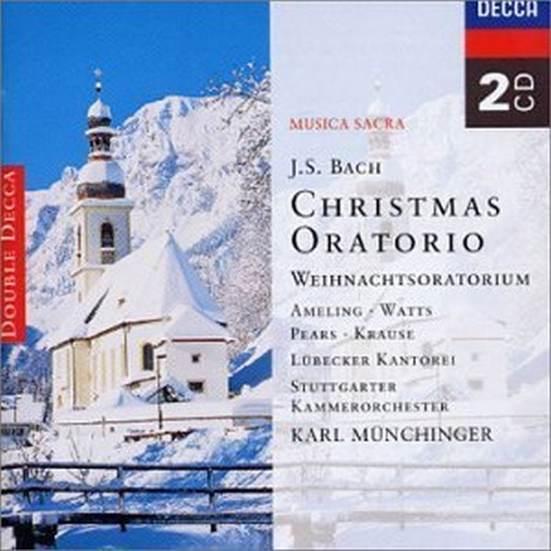 Christmas Oratorio Munich Bach Orch