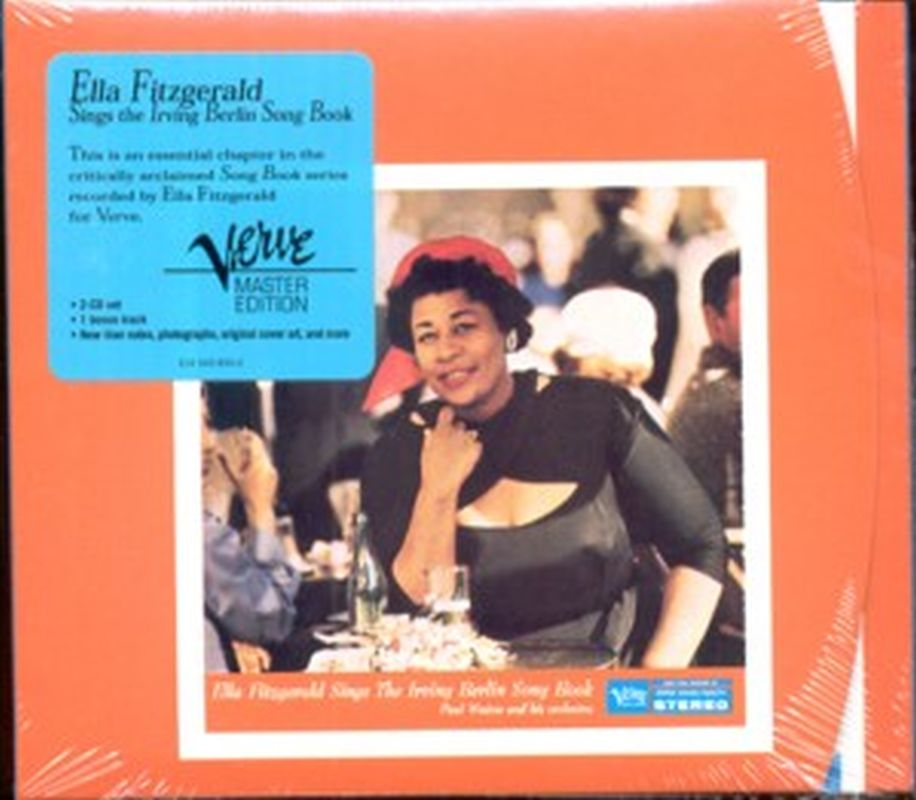 Ella Fitzgerald - Irving Berlin Song Book (digi - 2 Cd Set)