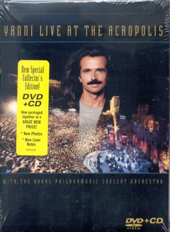 Yanni - Live At The Acropolis - Dvd + Cd