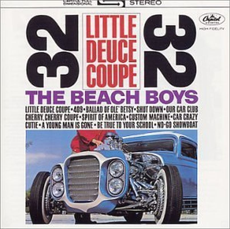 Beach Boys - Little Deuce Coupe/all Summer Long (rm - Cd)