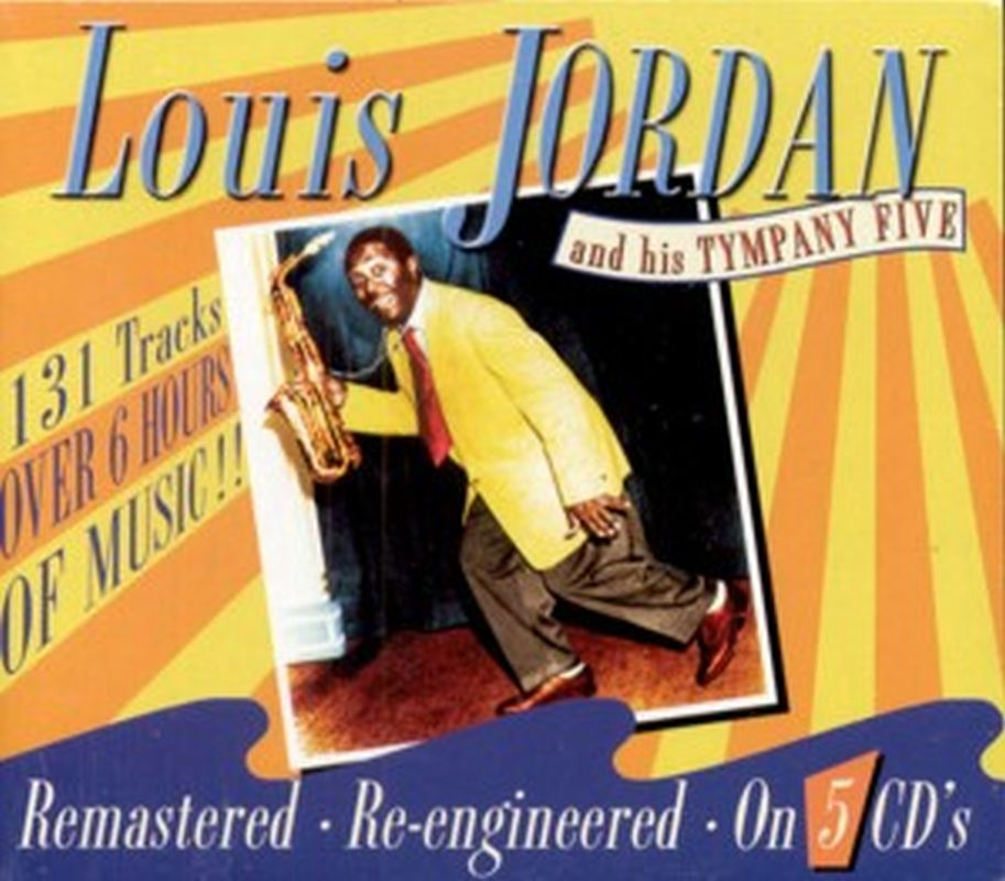 Louis Jordan - Louis Jordan And His Tympany Five - 5 Cd