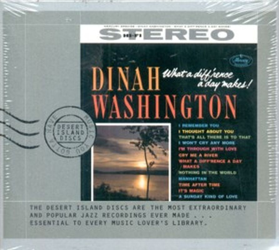 Dinah Washington - What A Diff'rence A Day Makes! - Cd