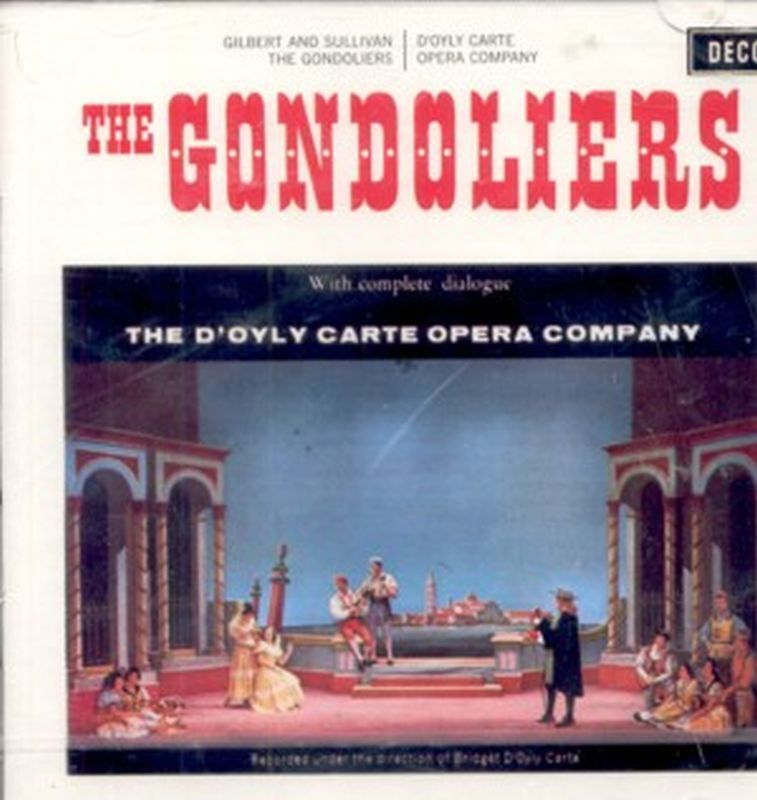 Gilbert & Sullivan - Gondoliers - 2 Cd Set