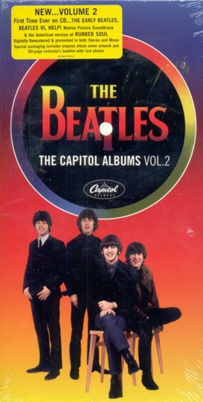Beatles - The Capitol Albums Volume 2 (rm - 4- Cd Set)