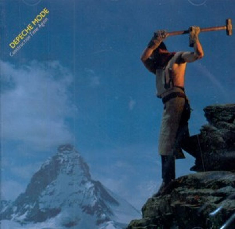 Depeche Mode - Constringuction Time Again - Cd