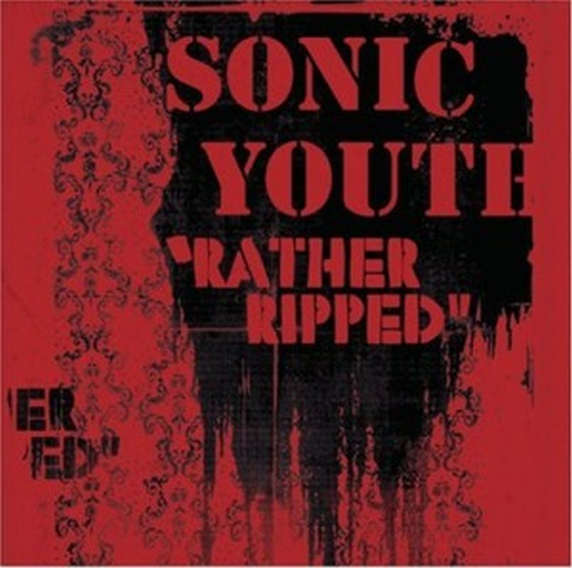 SONIC YOUTH - Rather Ripped 12 Tracks - U.s. Promo Issue -