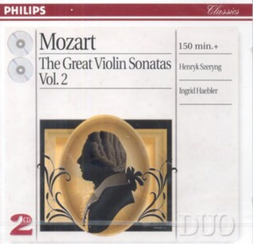 V2 Great Violin Sonatas