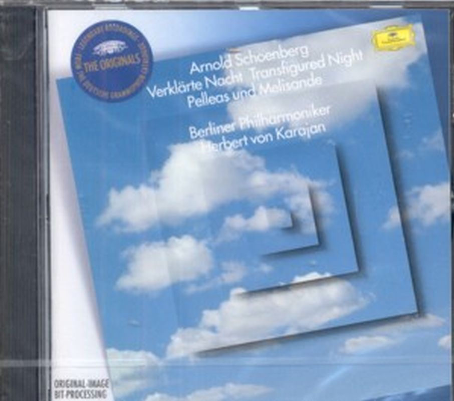 Arnold Schoenberg (Karajan) - Transfigured Night - Cd