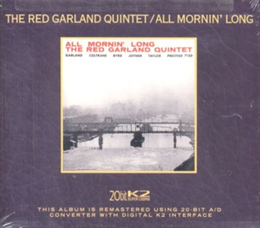 Red Garland Quintet - All Mornin' Long (rm - Cd)