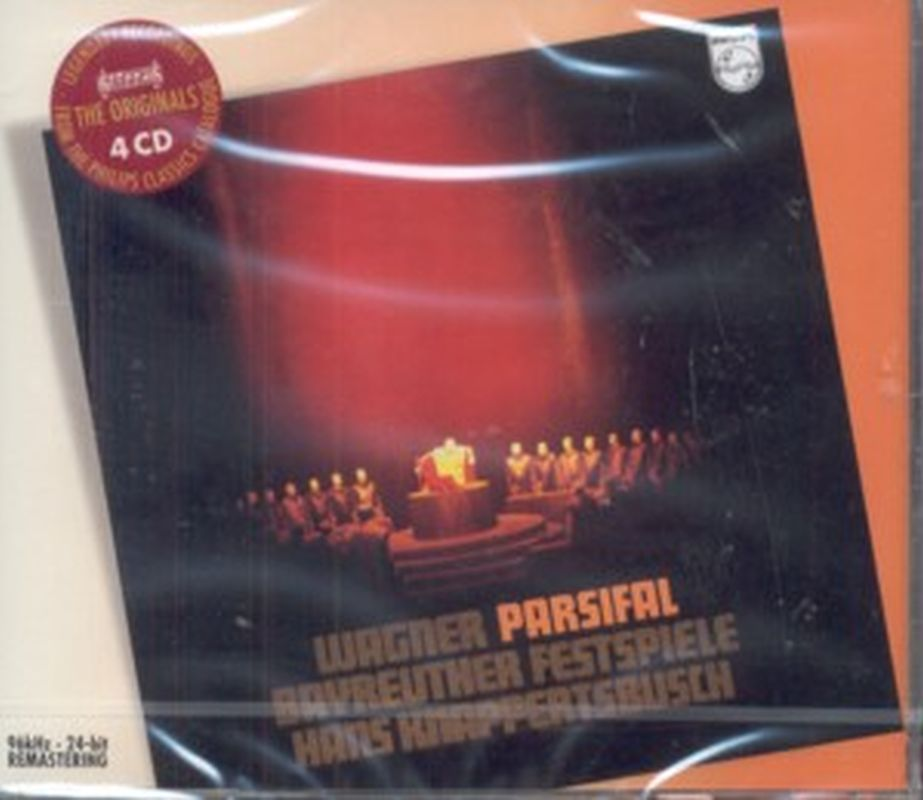 Parsifal - 4- Cd Set - Richard Wagner (Knappertsbusch)