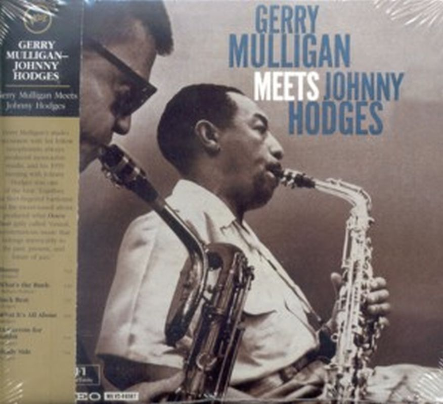 Meets Johnny Hodges - Cd - Gerry Mulligan