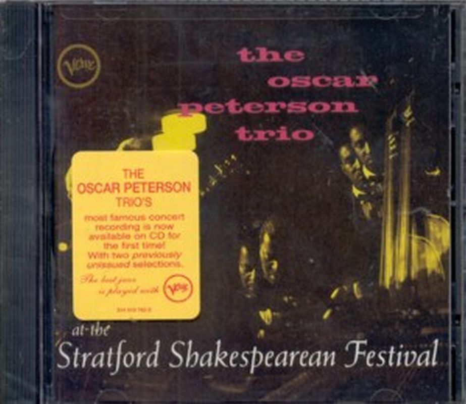 Oscar Peterson - At Stratford Shakespearen Festival - Cd
