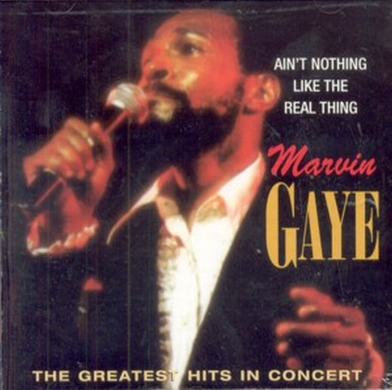 Marvin Gaye - Ain't Nothing Like The Real Thing - Cd