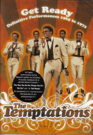 Temptations - 1965- 1972: Get Ready: Definitive - Dvd