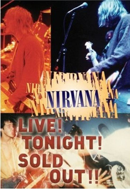 Nirvana - Live! Tonight! Sold Out! - Dvd