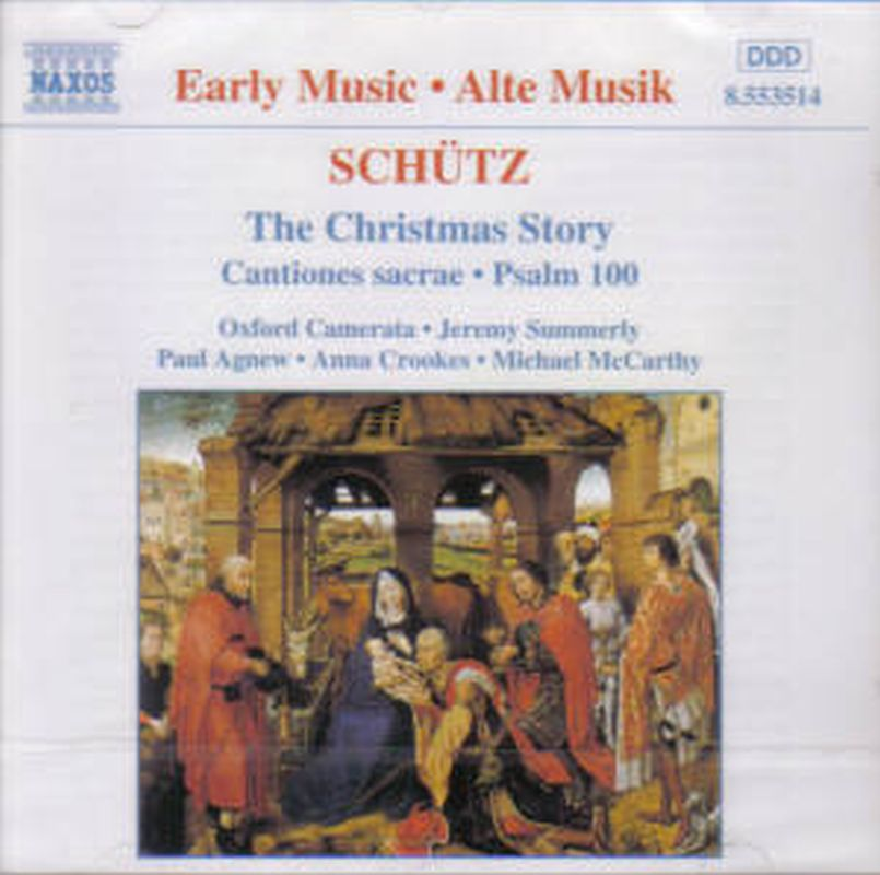 Heinrich Schutz - The Christmas Story - Cd