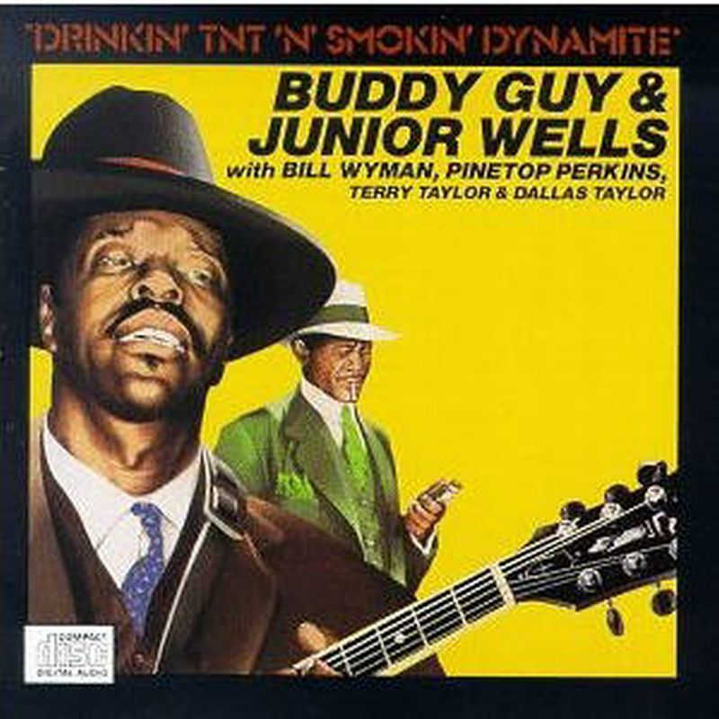 Buddy Guy/Jnr Wells - Drinkin Tnt N Smokin Dynamite - Cd