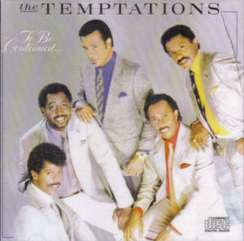 Temptations - To Be Continued... - Cd
