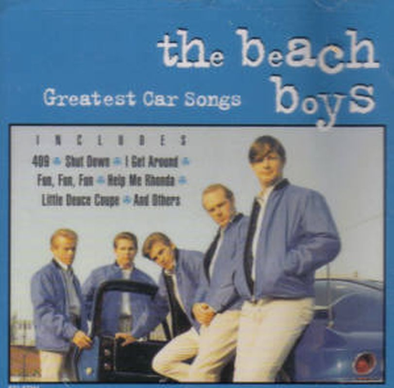 Beach Boys - Greatest Car Songs - Cd