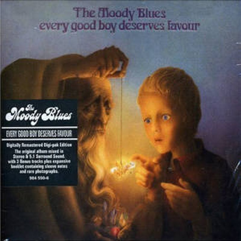 Moody Blues - Every Good Boy Deserves... (bonus - Sacd)