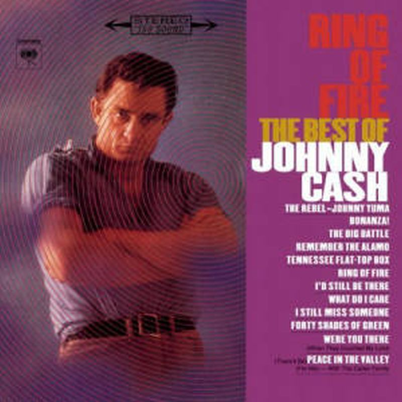 Johnny Cash - Ring Of Fire: The Best Of - Cd