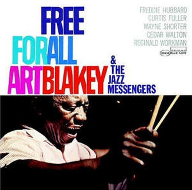 Art Blakey - Free For All (remastered - Cd)