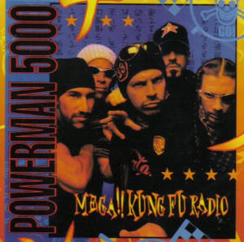 Powerman 5000 - Mega!! Kung Fu Radio - Cd