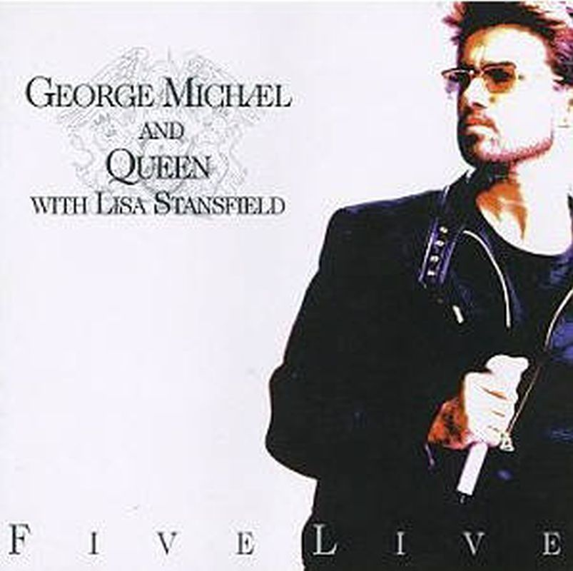 George Michael & Queen - Five Live (ep - Cd)