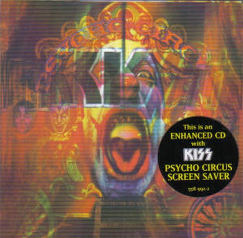 Kiss - Psycho Circus (enhanced - Cd)