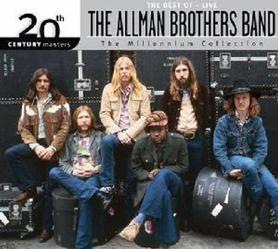 Best Of - Live - The Allman Brothers Band - Cd