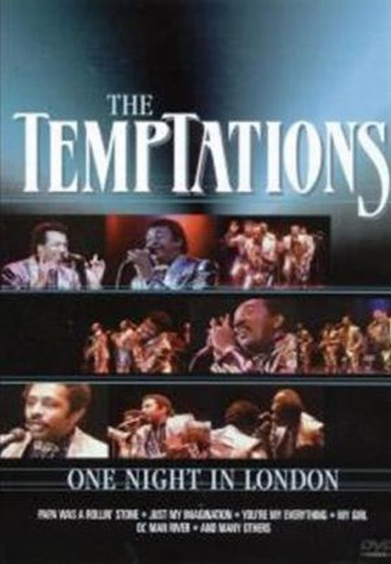 Temptations - One Night In London - Dvd