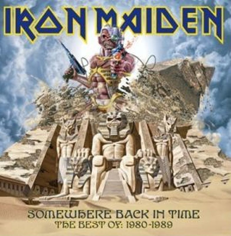 Iron Maiden - Best Of 1980- 1989: Somewhere Back... - Cd