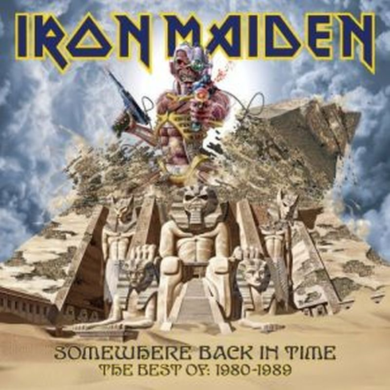 Iron Maiden - Best Of: Somewhere Back In Time - 2 Lp Set