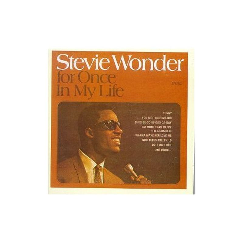 Stevie Wonder - For Once In My Life - Cd