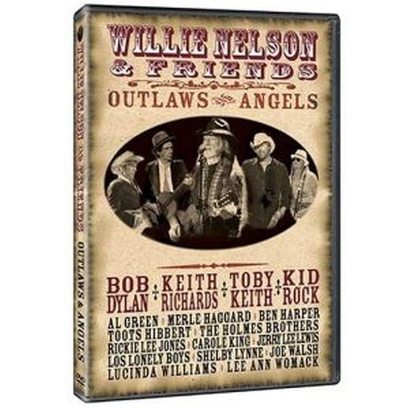 Willie Nelson &amp; Friends - Outlaws And Angels - Dvd