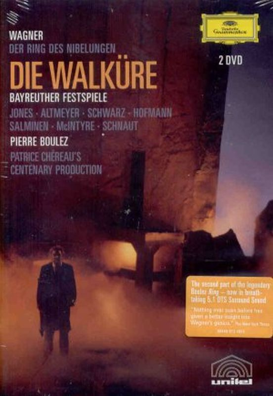 Richard Wagner - Die Walkure - 2 Dvd Set
