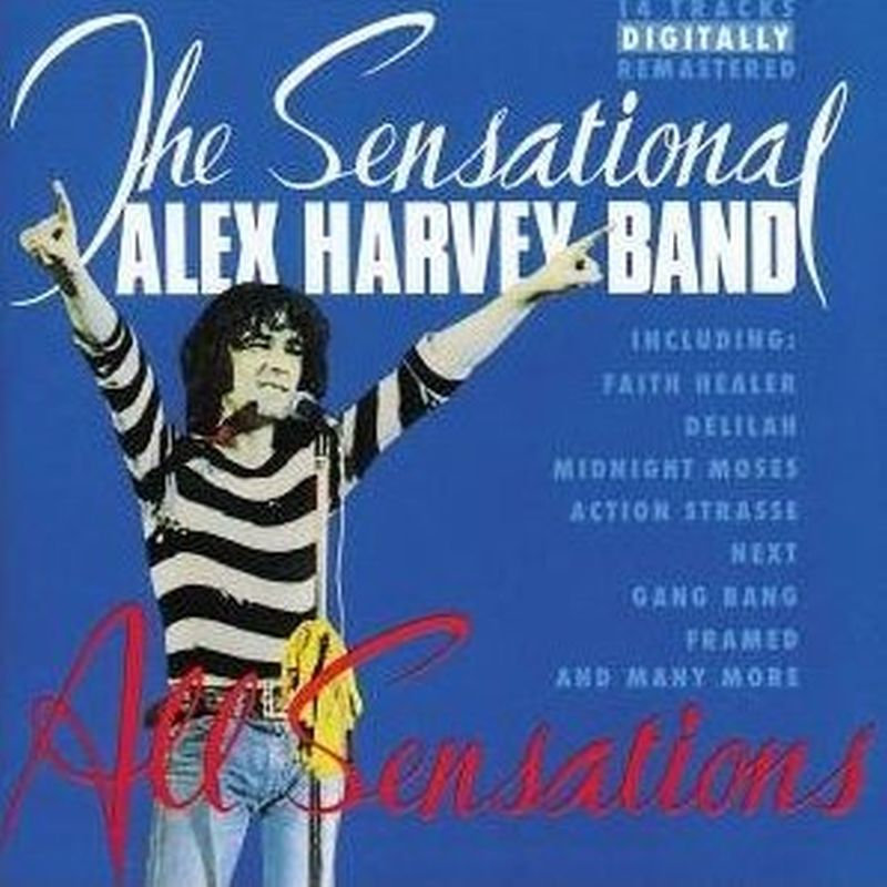 Alex Harvey Band - All Sensations - Cd