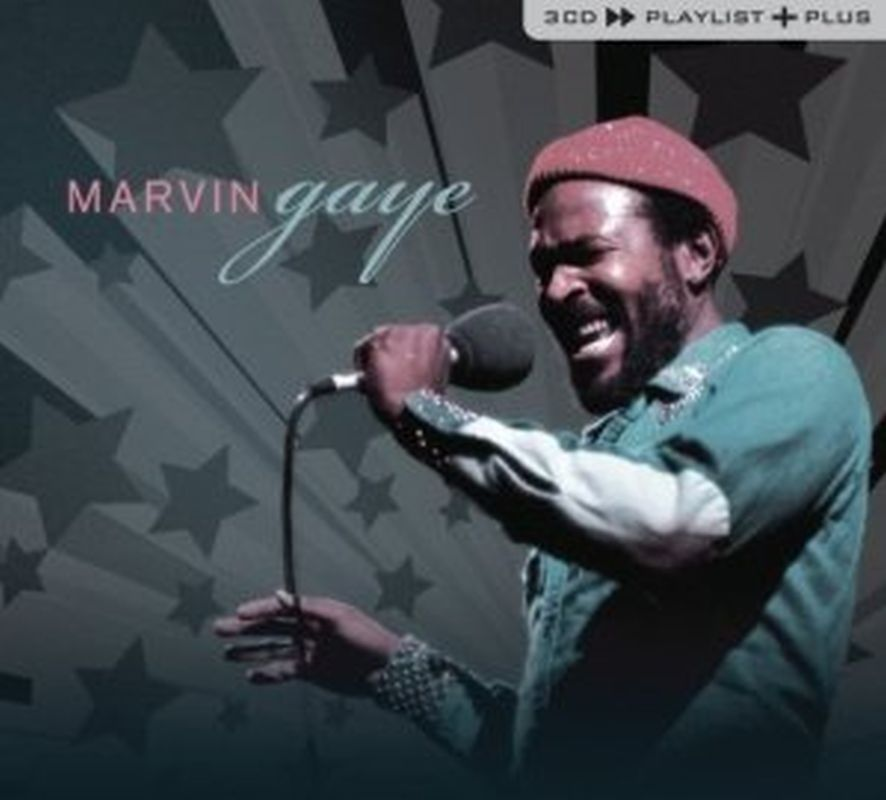 Marvin Gaye - Playlist Plus - 3 Cd Set